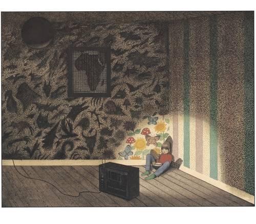 Imagen ilustración gorila
