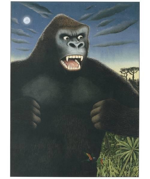 Imagen ilustración King Kong