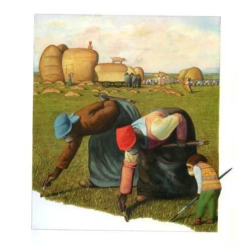 Imagen ilustración las pinturas de Willy